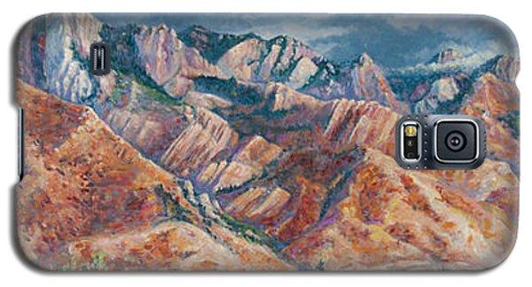 Mount Olympus In Autumn  Galaxy S5 Case