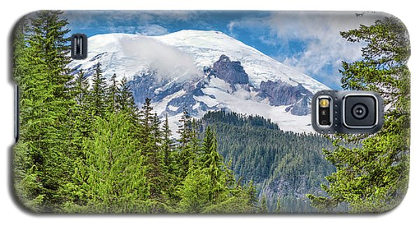 Galaxy S5 Case featuring the photograph Mount Rainier View by Stephen Stookey