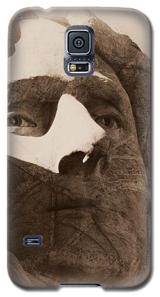 Mount Rushmore Faces Jefferson Galaxy S5 Case