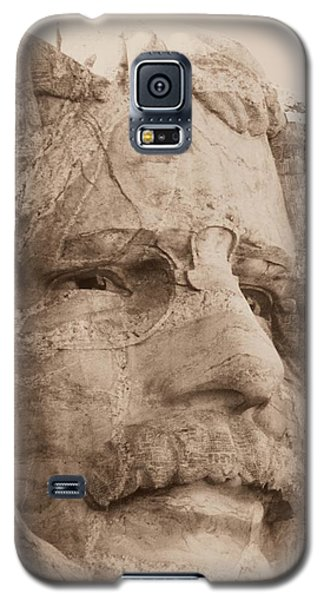 Mount Rushmore Faces Roosevelt Galaxy S5 Case