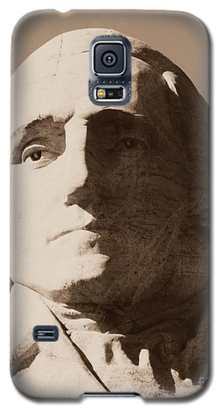 Mount Rushmore Faces Washington Galaxy S5 Case