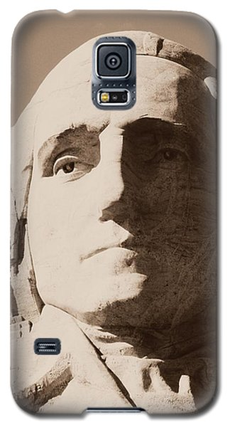 Mount Rushmore Faces Washington Galaxy S5 Case
