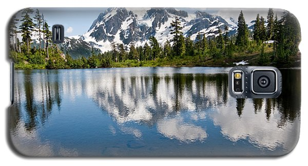 Mount Shuksan Reflected In Picture Lake Galaxy S5 Case