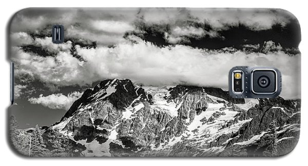 Galaxy S5 Case featuring the photograph Mount Shuksan Under Clouds by Jon Glaser