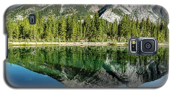 Mount Skogan Reflected In Mount Lorette Ponds, Bow Valley Provin Galaxy S5 Case