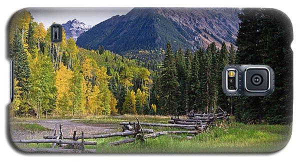 Mount Sneffels In Autumnn Galaxy S5 Case