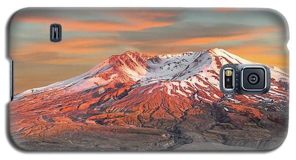 Mount St Helens Sunset Washington State Galaxy S5 Case
