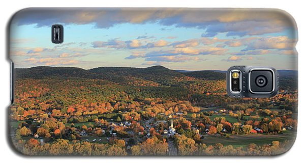 Mount Sugarloaf And Sunderland Autumn Evening Galaxy S5 Case by John Burk