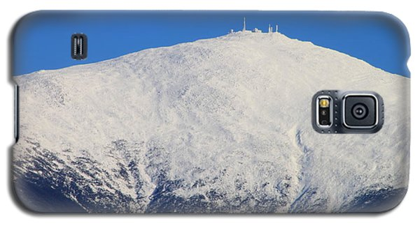 Mount Washington Summit And Weather Observatory Galaxy S5 Case by John Burk
