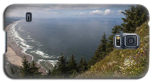 Mountain And Beach Galaxy S5 Case