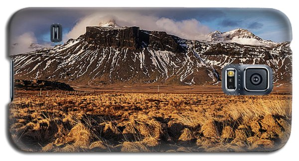 Mountain And Land, Iceland Galaxy S5 Case