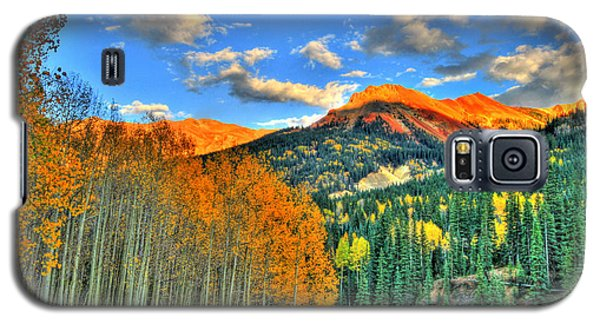 Mountain Beauty Of Fall Galaxy S5 Case