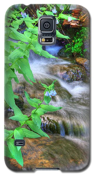 Mountain Bluebells Galaxy S5 Case