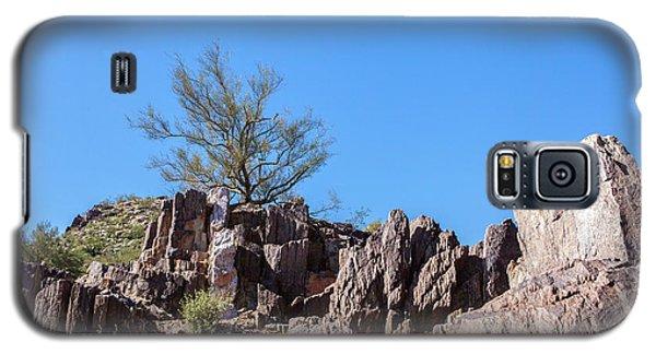 Mountain Bush Galaxy S5 Case by Ed Cilley