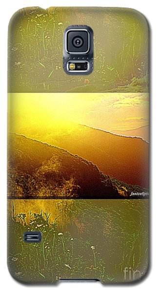 Galaxy S5 Case featuring the photograph Mountain Days by Janice Spivey