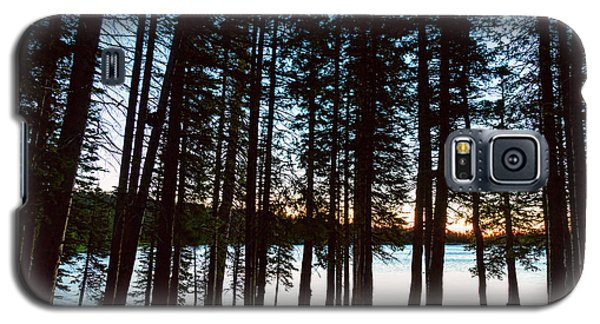 Galaxy S5 Case featuring the photograph Mountain Forest Lake by James BO Insogna