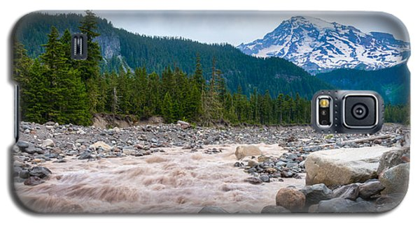 Mountain Glacier River Galaxy S5 Case