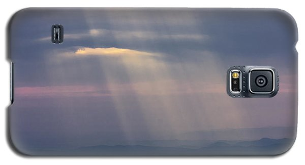 Mountain God Rays Galaxy S5 Case