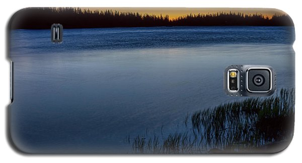 Galaxy S5 Case featuring the photograph Mountain Lake Glow by James BO Insogna