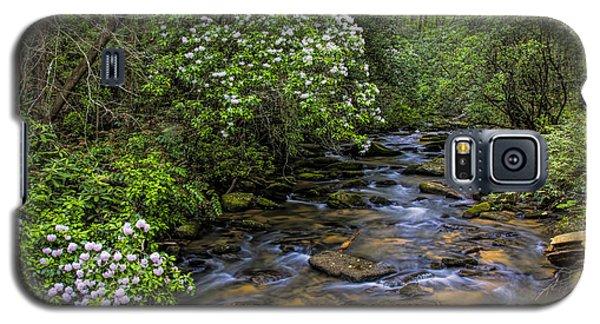 Mountain Laurels Light Up Panther Creek Galaxy S5 Case