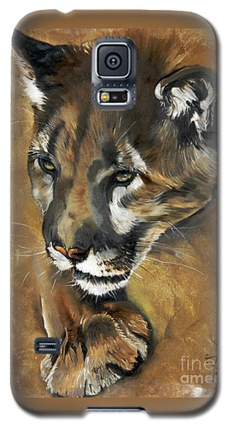 Mountain Lion - Guardian Of The North Galaxy S5 Case