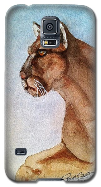 Mountain Lion Galaxy S5 Case by Rand Swift