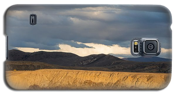 Galaxy S5 Case featuring the photograph Mountain Meadow And Hay Bales In Grand County by Carol M Highsmith