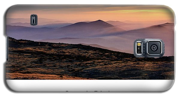 Galaxy S5 Case featuring the photograph Mountain Mist Poster by Marion McCristall