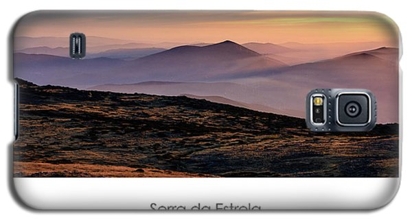 Mountain Mist Poster Galaxy S5 Case by Marion McCristall