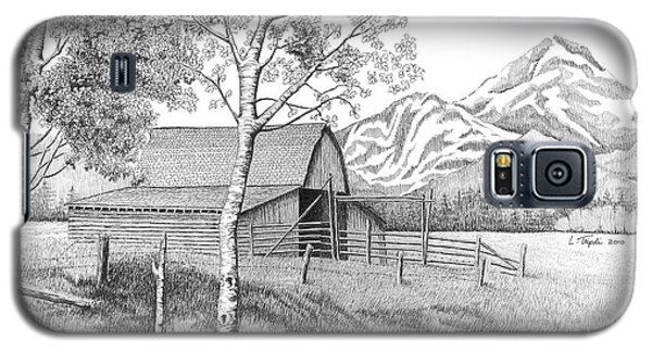 Mountain Pastoral Galaxy S5 Case by Lawrence Tripoli