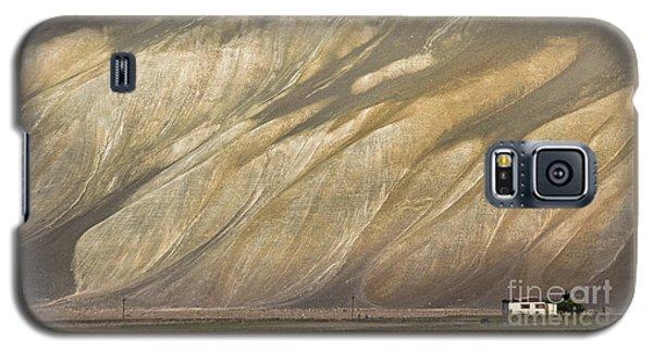Galaxy S5 Case featuring the photograph Mountain Patterns, Padum, 2006 by Hitendra SINKAR