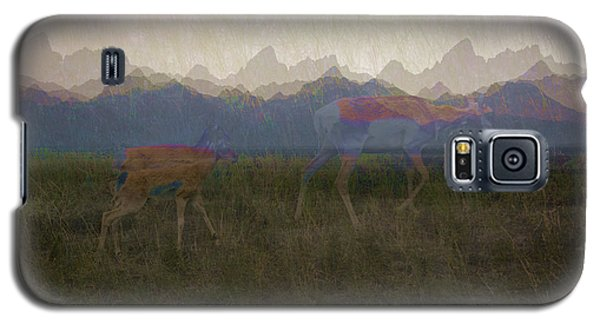 Mountain Pronghorns Galaxy S5 Case