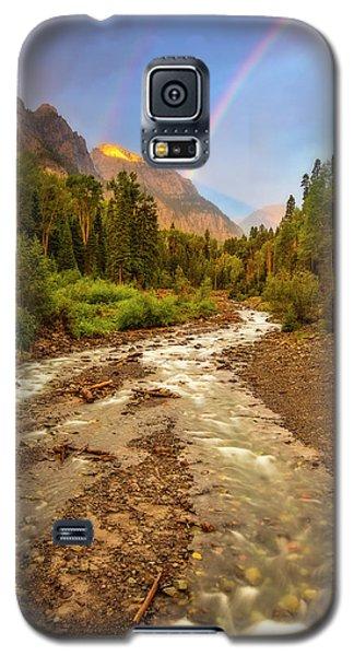 Mountain Rainbow Galaxy S5 Case