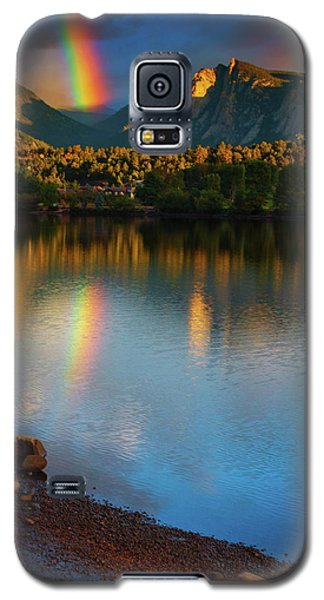 Mountain Rainbows Galaxy S5 Case