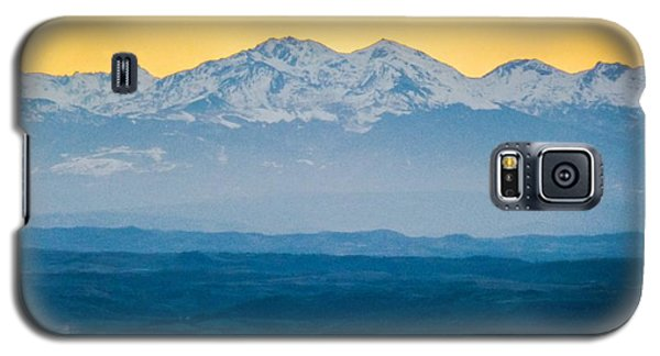 Mountain Scenery 7 Galaxy S5 Case