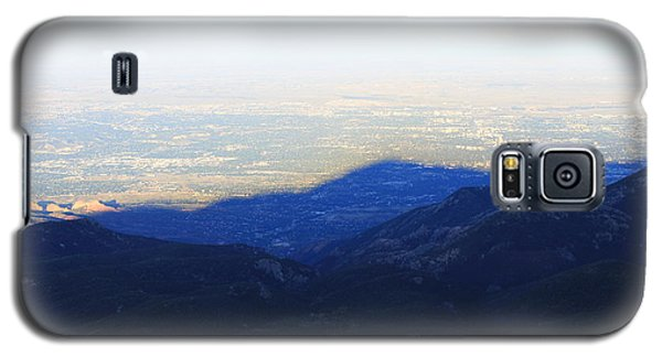 Galaxy S5 Case featuring the photograph Mountain Shadow by Christin Brodie
