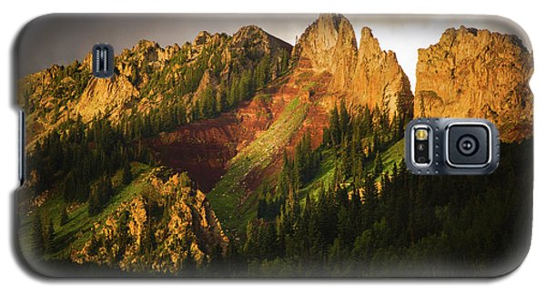 Mountain Storm Light Galaxy S5 Case