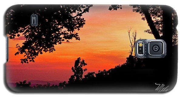 Mountain Sunrise Galaxy S5 Case by Meta Gatschenberger