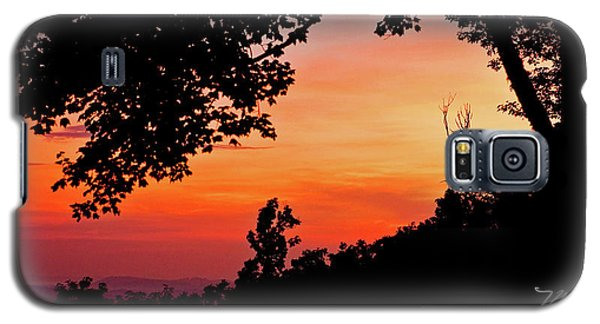 Mountain Sunrise Galaxy S5 Case