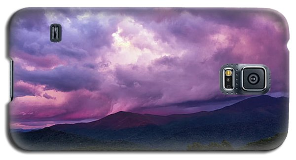Mountain Sunset In The East Galaxy S5 Case