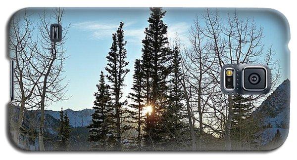 Mountain Sunset Galaxy S5 Case