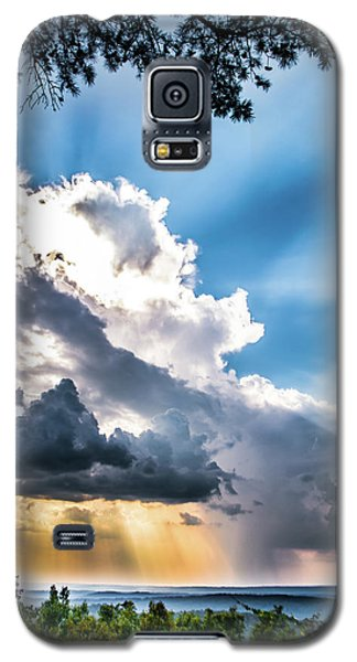 Galaxy S5 Case featuring the photograph Mountain Sunset Sightings by Shelby Young