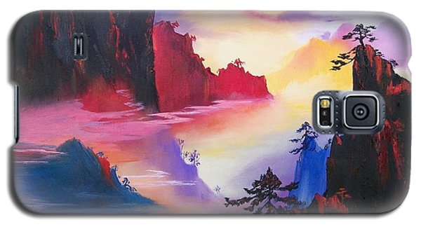 Mountain Top Sunrise Galaxy S5 Case