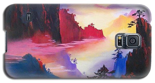 Mountain Top Sunrise Galaxy S5 Case