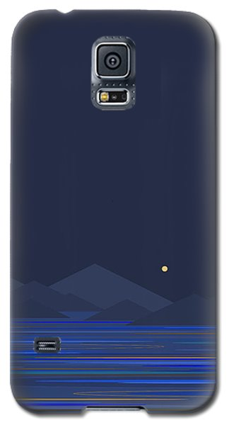 Mountain Tops II Galaxy S5 Case by Val Arie