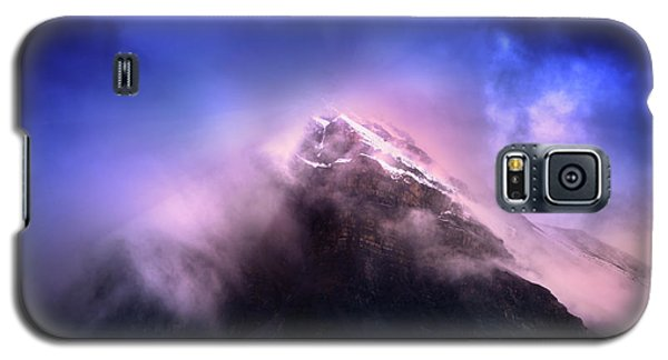 Galaxy S5 Case featuring the photograph Mountain Twilight by John Poon