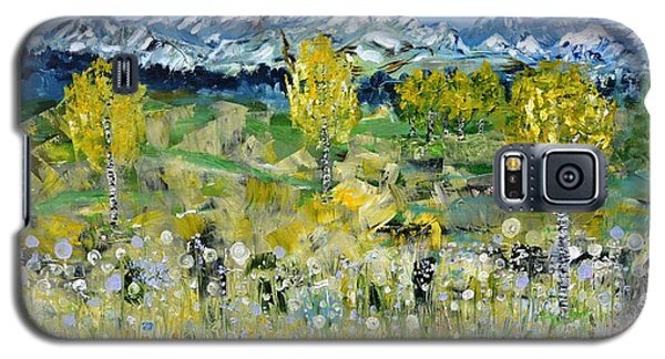 Mountain View Galaxy S5 Case by Evelina Popilian