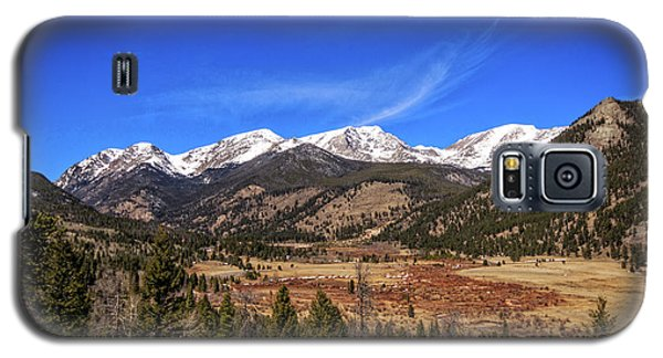 Galaxy S5 Case featuring the photograph Mountain View From Fall River Road In Rocky Mountain National Pa by Peter Ciro