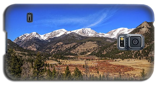Mountain View From Fall River Road In Rocky Mountain National Pa Galaxy S5 Case