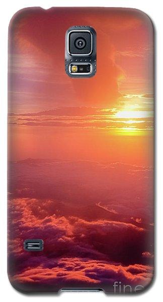 Galaxy S5 Case featuring the photograph Mountain View by Tatsuya Atarashi